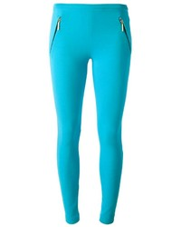 Emilio Pucci Zip Stretch Leggings