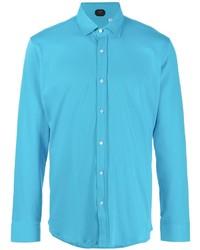 Mp Massimo Piombo Button Up Cotton Shirt