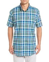 Barbour Gerald Tailored Fit Madras Sport Shirt