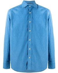 Tintoria Mattei Spread Collar Shirt