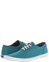 Aquamarine Low Top Sneakers