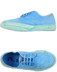 Aquamarine Low Top Sneakers