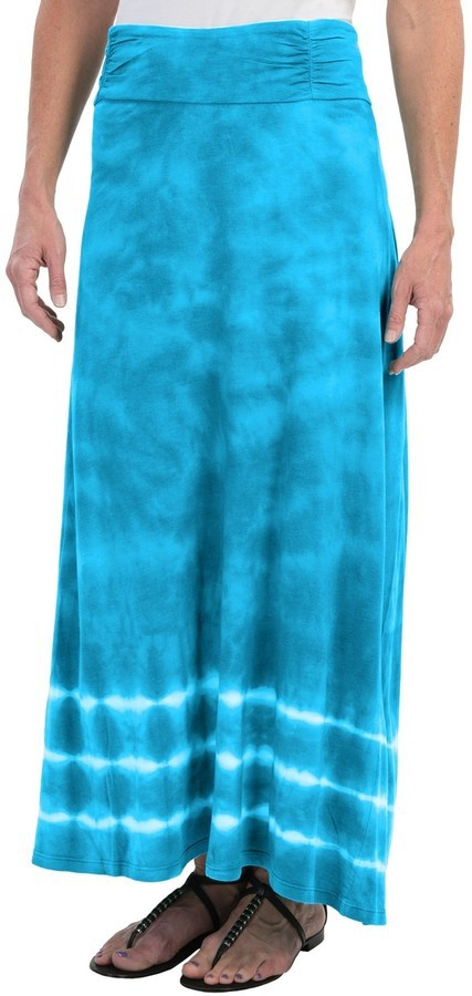7d07f094182e ... Aventura Clothing Tyra Maxi Skirt Organic Cotton Modal Tie Dye ...