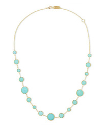 Ippolita Lollipop Lollitini 18 Karat Gold Turquoise Necklace