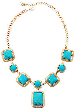 jcpenney Monet Jewelry Monet Aqua And Gold Tone Y Necklace Where