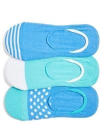 Nordstrom 3 Pack No Show Liner Socks
