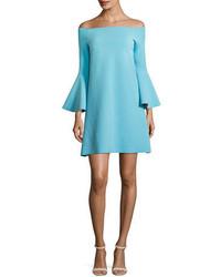 Chiara boni la petite robe nan off the shoulder jersey cocktail dress medium 3750038