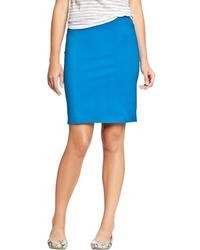 Aquamarine Pencil Skirt