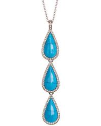 Karen Kane Coronado Triple Drop Pendant Necklace