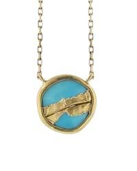 Jamie Joseph Sleeping Beauty Turquoise Joinery Pendant Necklace