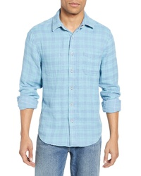 Faherty Belmar Regular Fit Reversible Cotton Sport Shirt