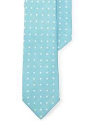 Aquamarine Polka Dot Tie