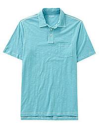 Cremieux Short Sleeve Slub Polo Shirt