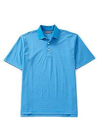 Daniel Cremieux Signature Short Sleeve Fine Stripe Polo Shirt