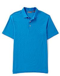 Daniel Cremieux Signature Short Sleeve Solid Luxury Pique Polo Shirt