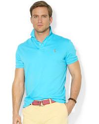 Men s Aquamarine T-shirts by Polo Ralph Lauren  74f44f3afe2