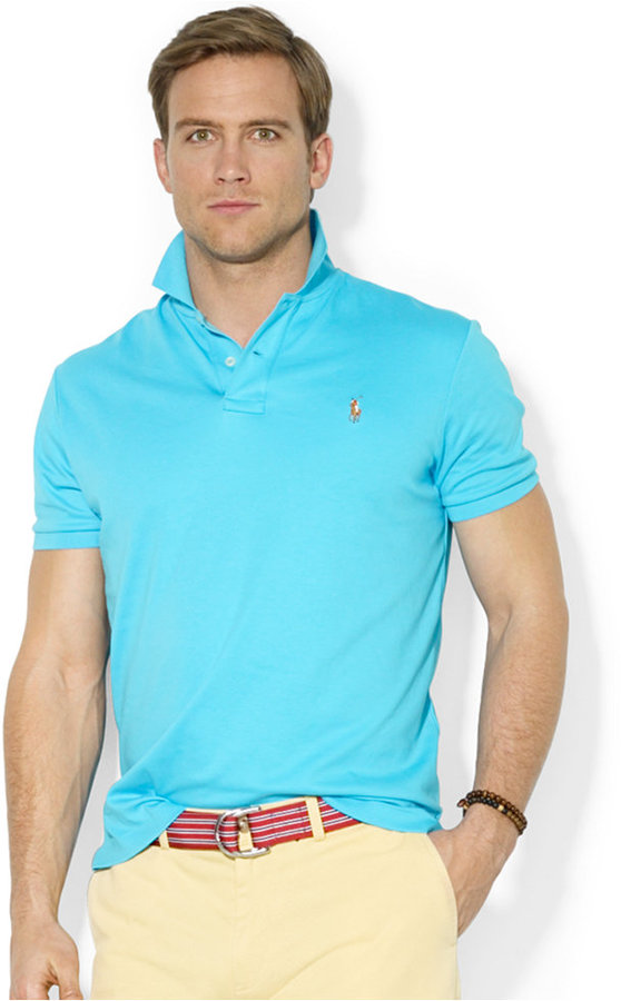 ... Polo Ralph Lauren Pima Soft Touch Polo Shirt ... e730efeed6e5d