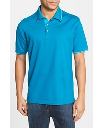 3a238f15 Men's Aquamarine Polos by Robert Graham | Men's Fashion | Lookastic.com