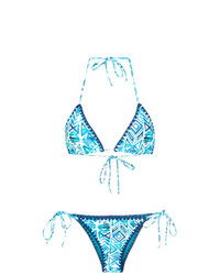 BRIGITTE Printed Triangle Bikini Set Unavailable