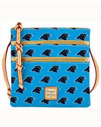 Dooney & Bourke Carolina Panthers Triple Zip Crossbody Bag