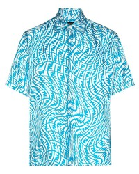 Fendi Vertigo Print Shirt