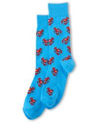 Hot Sox Lobster Print Dress Socks