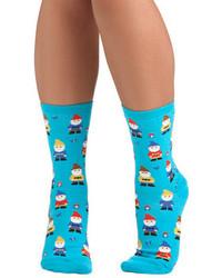Socksmith make yourself gnome socks medium 76329