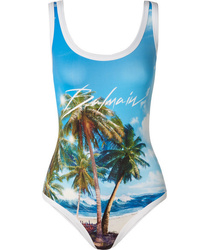 Balmain Printed Swimsuit