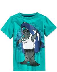 Aquamarine Print T-shirt