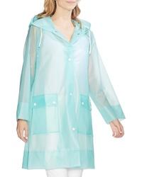 Vince Camuto Transparent Hooded Rain Jacket