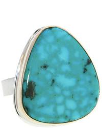 Jamie Joseph Irregular Turquoise Artisan Ring