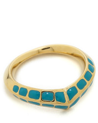 Aurelie Bidermann Turquoise Curve Ring