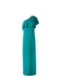 Lanvin One Shoulder Evening Dress