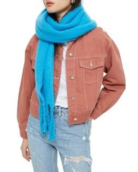 Topshop Heavy Brushed Scarf