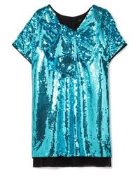 Marc Jacobs Ed Sequined Tte Mini Dress