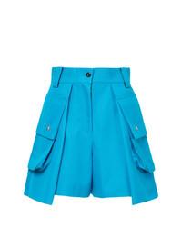 Sacai High Waisted Cargo Shorts