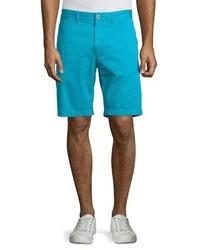 Robert Graham Journeyman Solid Flat Front Shorts
