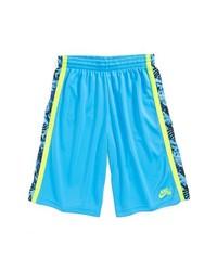 Nike Lizard Camo Shorts Baltic Blue X Large