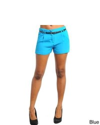 Stanzino Belted Casual Shorts