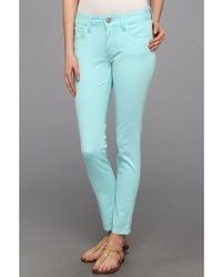 Mavi Jeans Alexa Ankle In Turquoise Neon