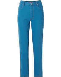 Eckhaus Latta El High Rise Straight Leg Jeans