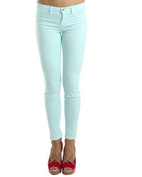 Mid rise skinny aqua medium 39450