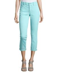 NYDJ Clarissa Cropped Skinny Twill Jeans