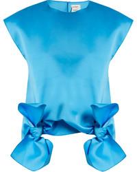 Aquamarine Sleeveless Top
