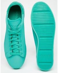 new product d8ce6 420ce ... adidas Originals Court Vantage Adicolor Sneakers In Green S80256 ...