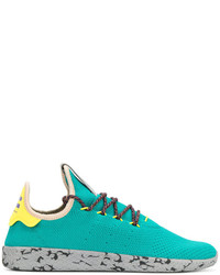 Men's Aquamarine Baskets by adidas Men's Fashion