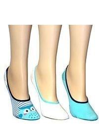 jcpenney 3 Pk Print Liner Socks
