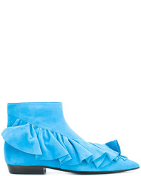 J.W.Anderson Ruffled Ankle Boots