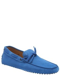 Tod's Carrot Suede New Gommini Driving Loafers