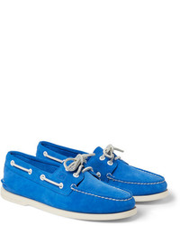 Top sider suede boat shoes medium 280538
